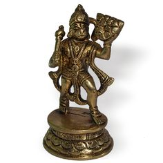 lord hanuman statue, brass hanuman statue, small hanuman statue