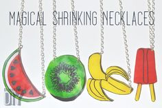 Shrink Plastic Necklaces | 33 DIY Gifts You Can Make In Less Than An Hour