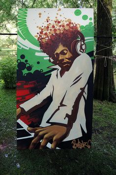 Graffiti & Street-art at Amsterdam Roots Festival | Flickr - Photo Sharing!