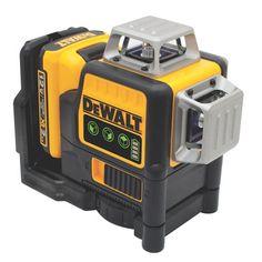 12V MAX 3 x 360 Green Line Laser