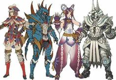 Monster Hunter Cosplay, Monster Hunter Art, Monster Boy, Fantasy Armor, Fantasy Weapons, Character Concept, Character Art, Susanoo, Female Armor