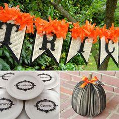 Cheap DIY Halloween Decorating Ideas