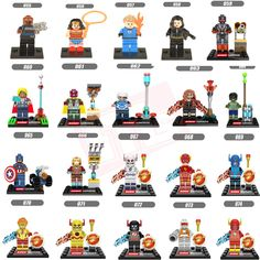 Single Sale Marvel DC Super Heroes Harley Quinn Star Wars Minifigures Model Building Blocks toys figures compatible with LEPIN #>=#>=#>=#>=#> Click on the pin to check out discount price, color, size, shipping, etc. Save and like it!