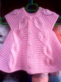 We know that ladies # knit # for kids # # vest # found # # like # # # # Deciduous tree # very # nice # stopped. Knitting For Kids, Baby Knitting Patterns, Lace Knitting, Crochet For Kids, Baby Patterns, Knit Lace, Knit Baby Dress, Knitted Baby Clothes, Baby Vest