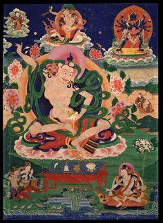 Indian Adept (siddha) - Shrisimha (HimalayanArt)