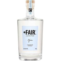 Our friends and brand partner FAIR. got a superb review of their superb #gin! FAIR is a portfolio of #ethically made #spirits from France, each emblazoned with a #Fairtrade stamp and a strong sense of #socialResponsibility. #fairspirits