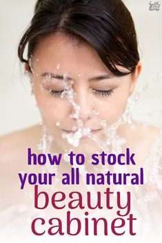 There's really no reason NOT to use homemade natural skincare products, since they are so economical and effective! Here's the perfect beginner's list for stocking an all natural beauty cabinet. All Natural Skin Care, Natural Face, Natural Glow, Natural Beauty, Homemade Deodorant, Homemade Skin Care, Gentle Detox, Face Care Routine, Beauty Recipe