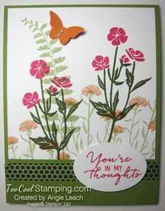 Sympathy Card Stamp-a-Stack: Wild About Flowers Garden Cards