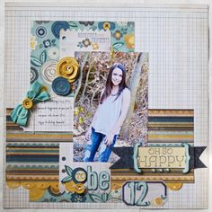 MME goodness! I am loving the blue and yellow combo lately...