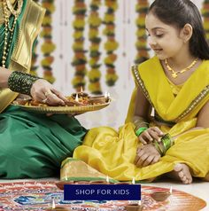 Shop priceless gifts among this most fitting selection of ornate gold jewelry as special as your little ones Gold Jewellery Design, Gold Jewelry, Diwali 2018, The Special One, Diwali Festival, Festival Lights, Jewels, Kids, Shopping