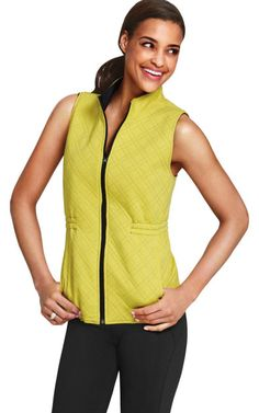 Travel Reversible Vest - CAbi Fall 2014 Collection