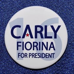 Carly Fiorina for President 16 Button Pin 2016 Republican GOP Trump Bush Rubio Republican Gop, All Presidents, Presidential History, Historical Photos, Campaign, Politics, Button, Ebay, Historical Pictures