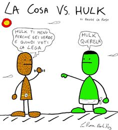 La Cosa VS. Hulk    www.lario3.it