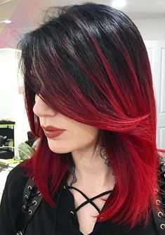 Most amazing trends of black to red ombre hair colors and highlights for 2018. Learn here how to do the beautiful red ombre hair colors for most attractive and cute look. No doubt these are awesome choice of hair colors for stylish ladies to wear in these days. Choose these red hair colors to make your looks fresh.