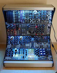 MATRIXSYNTH: 12U Blue lantern Module's elite modular synthesize...