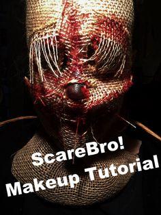 Scarecrow Makeup Tutorial!