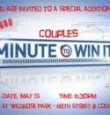Minute to Win It: Couples. So gonna play this on a group date!