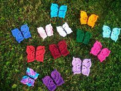 Crochet Butterfly – Free Crochet Pattern (linked)