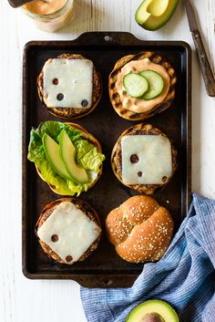 Ultimate Quinoa Veggie Cheeseburgers --@forkknifeswoon @sargentocheese #realcheesepeople