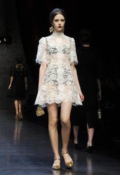 Dolce And Gabbana Milan Fashion Week Spring 2013