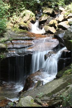 Picture by MnMCarta: Ellijay Georgia   Ellijay, GA, Georgia,waterfall,nature,rocks