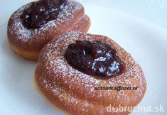 Mäkké šišky Eastern European Recipes, Czech Recipes, Doughnut, Sweet Recipes, Donuts, Sweet Treats, Menu, Pudding, Cooking Recipes