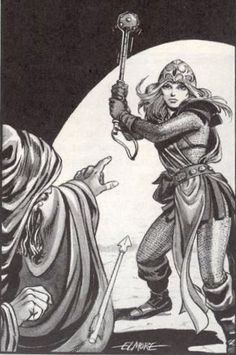 10 PIECES OF LARRY ELMORE ART THAT CHANGED GAMING | Art of the Genre