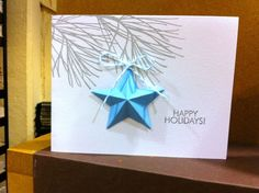 Savvy stamps 3D folded star craft die