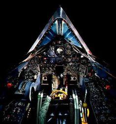 F-117 cockpit