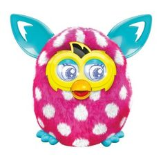 - Super Sweet Pink Polka Dot Furby Boom by Hasbro How Precious is this Ever Popular Pink Polka Dot Furby Boom! by Hasbro! Perfect for becoming a girl's best friend! Pink Polka Dot Furby Boom is Pink with White Polka Dots. Get ready, becau. Furby Boom, Toys For Girls, Kids Toys, Tween Girls, Children's Toys, Interactive Toys, Top Toys, Christmas Toys, Cheap Christmas