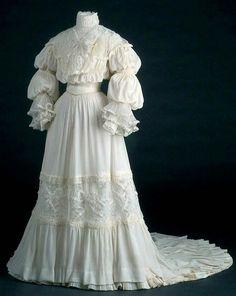 Wedding Gown ca.1907