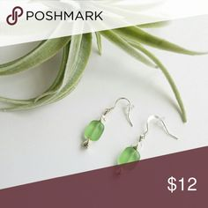 New Mint Green Earrings Lovely shade of soft mint green. Never worn, brand new. Smoke free pet free home. Check out my other listings to bundle and save! Jewelry Earrings