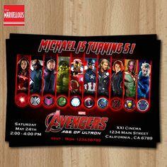 avengers avengers invitation avengers age of por TheMarvellous