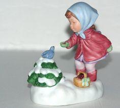 Vintage Music Box  Avon Christmas Musical Figurine  We by QVintage, $20.00
