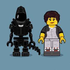 Dan Shearn - Lego Alien