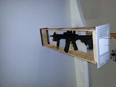 hidden gun ceiling mount