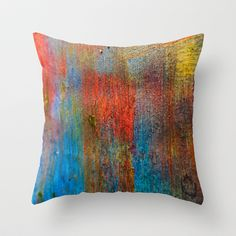 Ice arts Throw Pillow by Jean-François Dupuis - $20.00