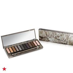 The answer to all your smoky eyed prayers is finally here, at Macy's! Urban Decay Smoky Eye-shadow Palette helps you nail the most sought-after makeup look with 12 shades ranging from warm bronzes and dimensional grays to rich browns, gorgeous taupes and a deep black. These matte and satin shadows blend with a velvet texture that's perfectly smoky.