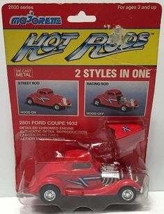 (TAS034536) - Majorette Collectible Die-Cast Hot Rods - 1932 Ford Coupe, , Trucks & Cars, Majorette, The Angry Spider Vintage Toys & Collectibles Store  - 1