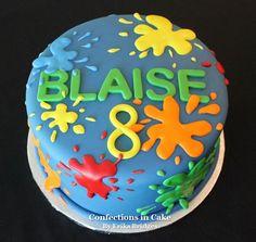 Paintball Birthday Cake                                                                                                                                                                                 More