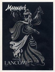 Lancôme (Perfumes) 1947 Marrakech, Oriental Dancer