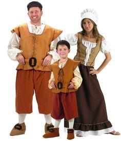 Disfraz de familia medieval: Disfraz de Sancho Panza adultoEste disfraz de Sancho Panza para hombre está compuesto por un top, una pantalón, un cinturón, una cofia y un par de cubre botas (medias no...
