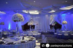 A wedding in our ballroom at the Hyatt Regency LAX. #weddingwednesday