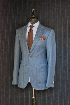 Azul y marrón. Menos es más. La combinación semanal ~ Style Consultant - Algunos consejos para vestir bien