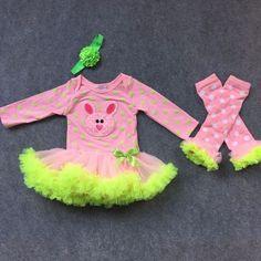 Bunny Tutu Onesie Dress