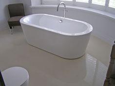 Digital Art Gallery Cozy Bathroom With Polished Concrete Floor On Concrete For Bathroom Flooring