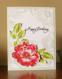 "This week at Papertrey Ink, Ashley made a wonderful card, using ""Colour Isolation"" as the theme, which is just using a neutral ink to st..."
