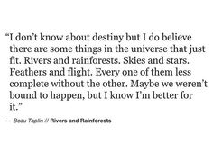 Beau Taplin • Rivers And Rainforests