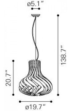 Zuo Modern Tsunami Line Drawings