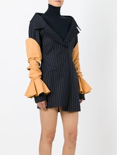 Jacquemus Pinstripe Dress - Browns - Farfetch.com
